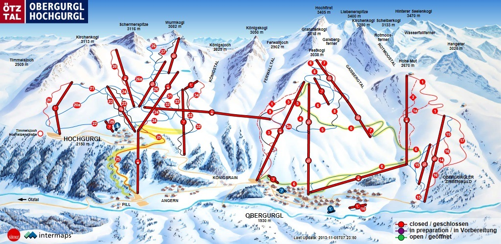 Obergurgl map