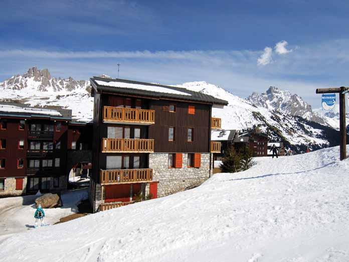 Ski France | Meribel | Le Hameau De Mottaret Apartments ...